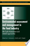 Environmental Assessment and Management in the Food Industry Book