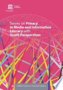 Survey on privacy in media and information literacy with youth perspectives