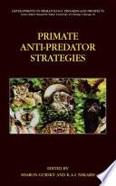 Primate Anti Predator Strategies