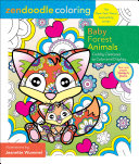 Zendoodle Coloring: Baby Forest Animals