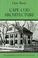 Cape Cod Architecture Book PDF