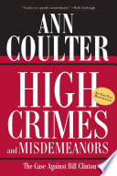 High Crimes and Misdemeanors Book