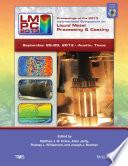 Proceedings of the 2013 International Symposium on Liquid Metal Processing and Casting (LMPC)
