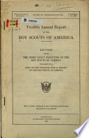 Annual Report of the Boy Scouts of America Book