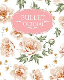 Pink Floral Pattern Cover Bullet Journal
