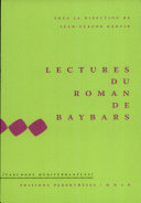 Lectures du Roman de Baybars