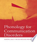 Phonology for Communication Disorders Book