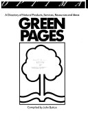 Green Pages Book