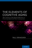 The Elements of Cognitive Aging