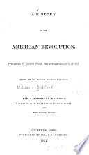 A History of the American Revolution Book PDF
