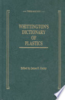 Whittington s Dictionary of Plastics  Third Edition Book