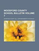 Woodford County School Bulletin