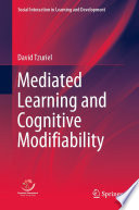 Mediated Learning and Cognitive Modifiability
