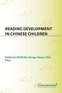 Reading Development in Chinese Children [Pdf/ePub] eBook