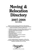 Moving & Relocation Sourcebook and Directory