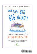 The Big Big Big Boat  and Other Bible Stories about Obedience