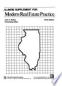 Illinois Supplement for Modern Real Estate Practice