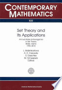 Set Theory and Its Applications Book