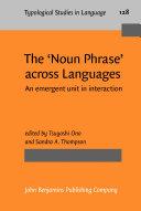 The 'Noun Phrase' across Languages Pdf/ePub eBook