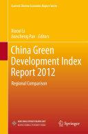 China Green Development Index Report 2012