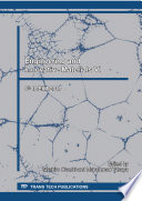 Engineering and Innovative Materials VI Book