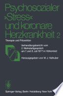 Psychosozialer    Stress    und koronare Herzkrankheit 2