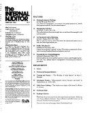 The Internal Auditor Book