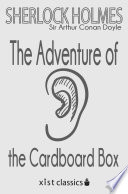 Read Online The Adventure of the Cardboard Box For Free