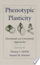 Phenotypic Plasticity Book