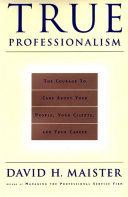 True Professionalism Pdf/ePub eBook