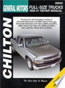 General Motors Full-Size Trucks (99-01) Repair Manual