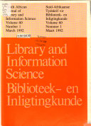 South African Journal of Library and Information Science