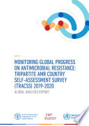 Monitoring global progress on antimicrobial resistance  tripartite AMR country self assessment survey  TrACSS  2019   2020