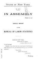 Annual Report of the Bureau of Labor Statistics