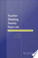 Teacher Thinking Twenty Years on