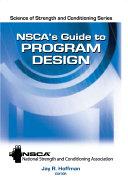 NSCA's Guide to Program Design
