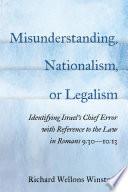 Misunderstanding Nationalism Or Legalism