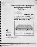 Integrated Magnetic Propulsion and Suspension  IMPS  Book