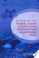 Review of the Federal Ocean Acidification Research and Monitoring Plan Book