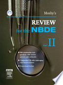 Mosby s Review for the NBDE