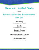 Leveled Texts--Famous Scientists and Discoveries Text Set