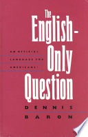 The English only Question