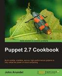 Puppet 2 7 Cookbook