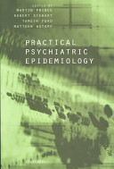 Cover of Practical Psychiatric Epidemiology