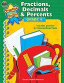 Fractions, Decimals & Percents Grade 4