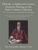 Fifteenth- to Eighteenth-century European Paintings