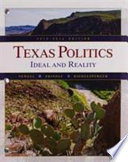 Texas Politics  : Ideal and Reality, 2015-2016