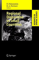 Pdf Regional Disparities in Small Countries Telecharger