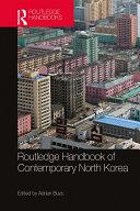 Routledge Handbook of Contemporary North Korea Pdf/ePub eBook