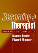 Becoming a Therapist Book